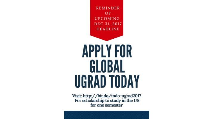 Reminder Global UGRAD
