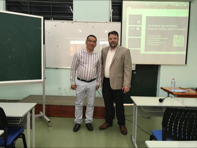 Dr. Christopher Leslie Visits Vietnam 1