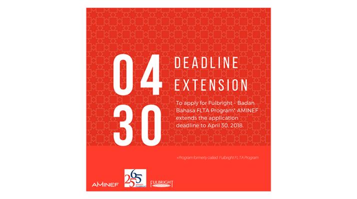 Deadline extension Fulbright Badan Bahasa FLTA-slider