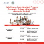 revisi 4 CCI Announcement untuk Papua