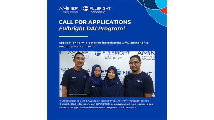 call for application Fulbright DAI Program